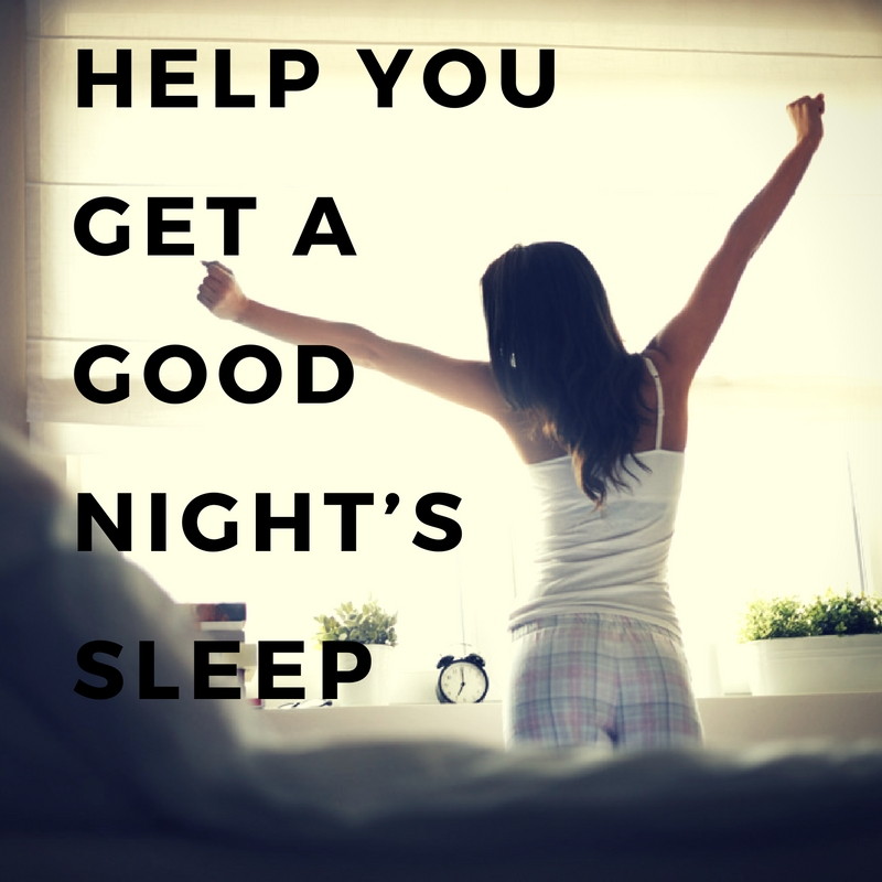 Help you get a good night's sleep