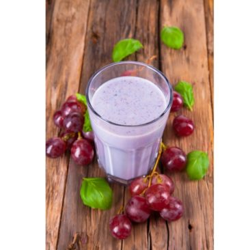 Frozen Grape Smoothie